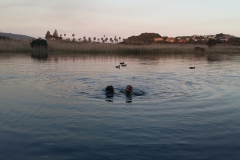 sunset-swimming-pirates-creek-accommodation